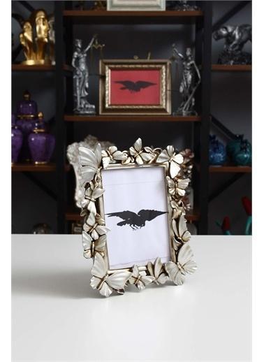 Raven Home Studio Rhs Kelebekli Polyester Çerçeve Çerçeve&Albüm Gümüş 15X20 Renkli